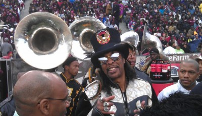 It's Bootsy, baby! Funkmeister Bootsy Collins was the 2012 Classic Ambassador.
